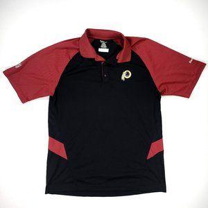Reebok Washington Redskins Large Polo Dryfit NFL